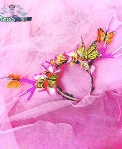 Handmade ''Springtime Daydream'' Deer Antlers headband , headpiece