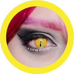 primal jurassic cosplay contact lenses, costume lenses,colored lenses, colored contacts,halloween, anime lenses, big eyes,
