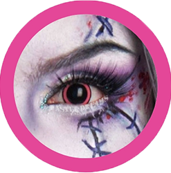 ACid manga pink cosplay contact lenses, costume lenses,colored lenses, colored contacts,halloween, anime lenses, big eyes