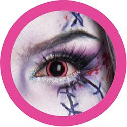 ACid manga pink cosplay contact lenses, costume lenses,colored lenses, colored contacts,halloween, anime lenses, big eyes