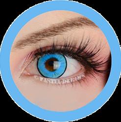 super hero blue primal colored contact lenses, cosplay lenses, costume, enlargement lenses, halloween lenses, cosplay contact lenses
