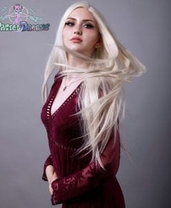 This super long straight style is the ultimate must have for any doll like look !!